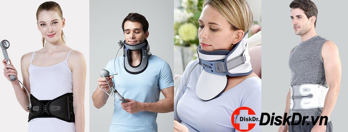 Đai lưng, đai cổ DiskDr điều trị thoát vị đĩa đệm, thoái hóa cột sống