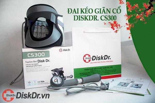 Hình ảnh thực tế đai kéo giãn cột sống cổ DiskDr CS-300
