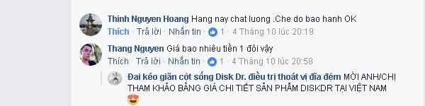 Thinh Nguyen Hoang nhận xét đai lưng: Hàng chất lượng, chế độ bảo hành tốt