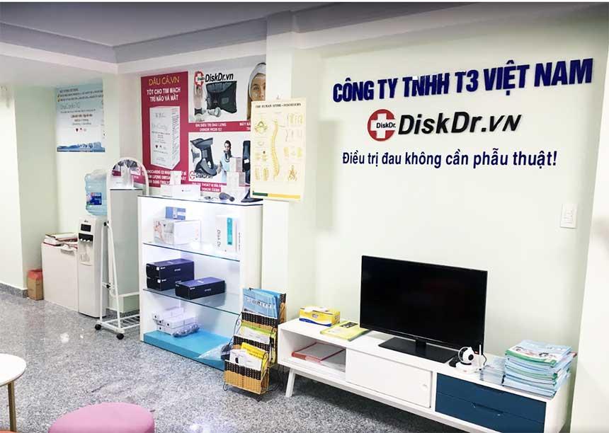 Hình ảnh bên trong văn phòng DiskDr. tại TP HCM