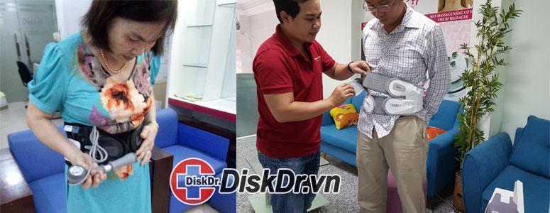 khách hàng mua và dùng thử diskdr tại Hà Nội và TP HCM