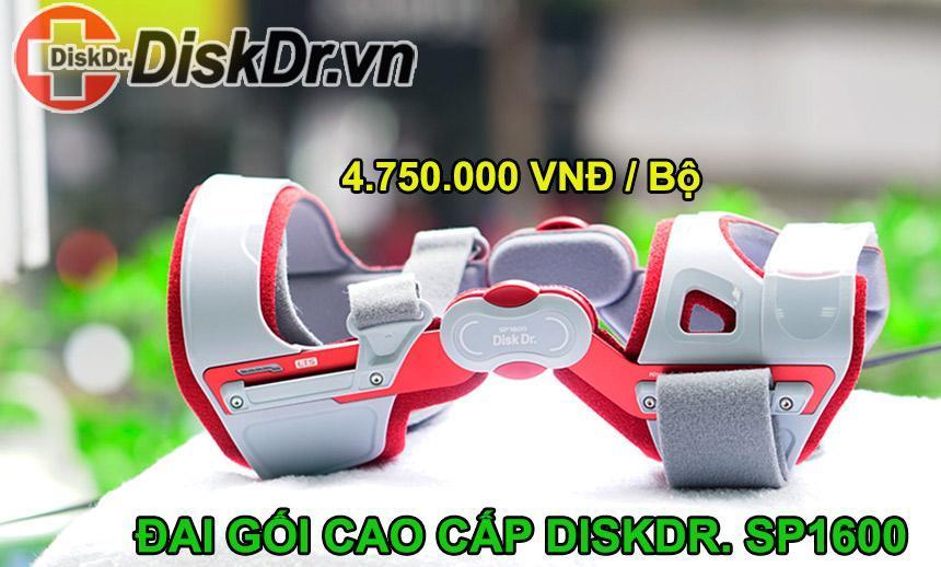 Ảnh thực tế và Giá bán đai gối cao cấp DiskDr SP1600