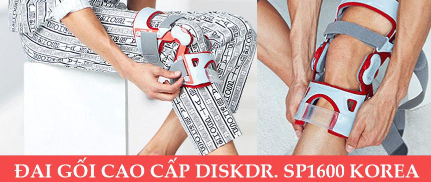 Đai chữa đứt dây chằng khớp gối DiskDr SP1600