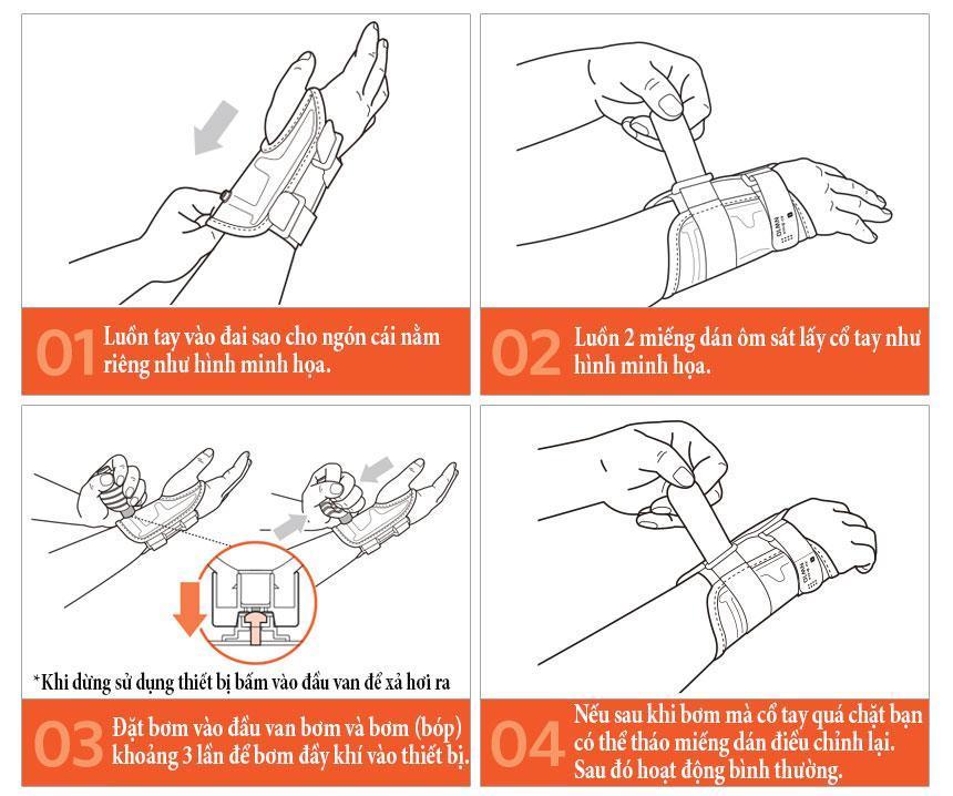 Cách sử dụng đai cổ tay diskdr nw10