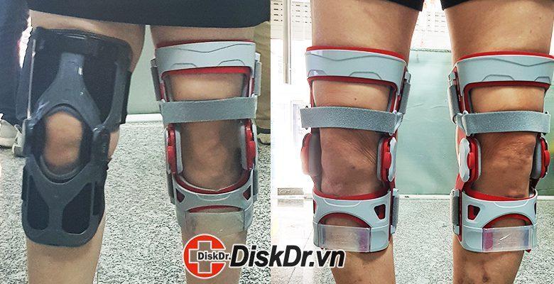 đai kéo giãn điều trị đau khớp gối diskdr. sp1000 và sp1600