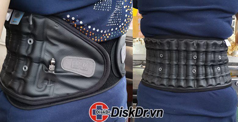 Sự tiện lợi của đai kéo giãn cột sống DiskDr. WG30G2 trong cuộc sống hằng ngày