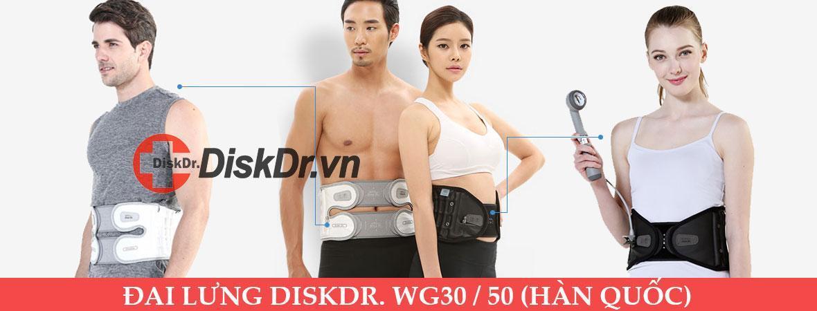 Đai lưng DiskDr WG30 / WG50