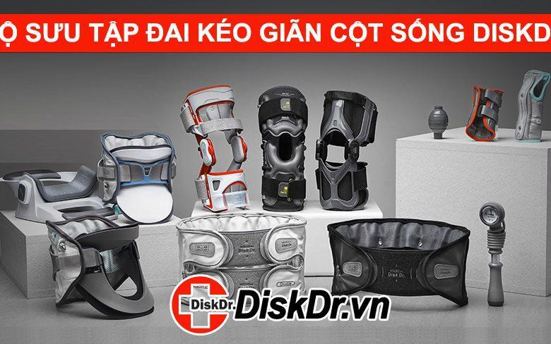 Đai DiskDr phiên bản mới nhất đai lưng, đai cổ, đai khớp gối