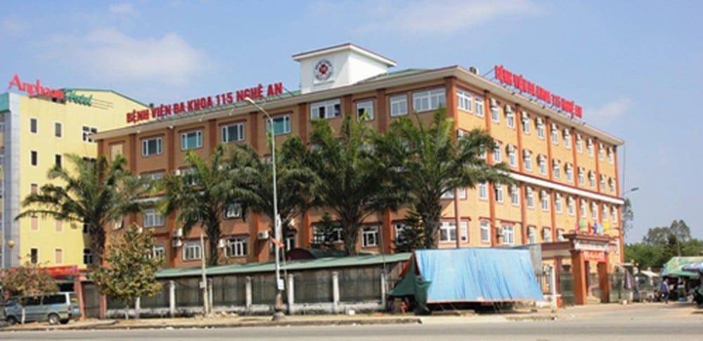 Bệnh viện Đa khoa 115 Nghệ An