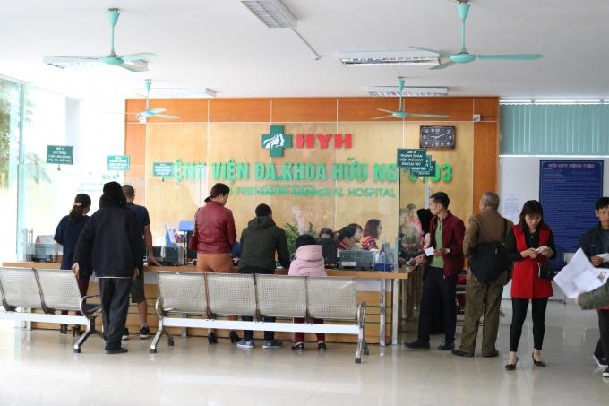 Bệnh viện đa khoa Hữu Nghị 103 chữa thoát vị đĩa đệm ở Yên Bái