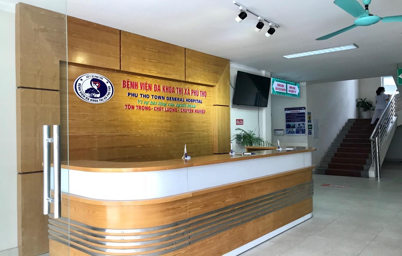 Bệnh viện Đa khoa Thị xã Phú Thọ