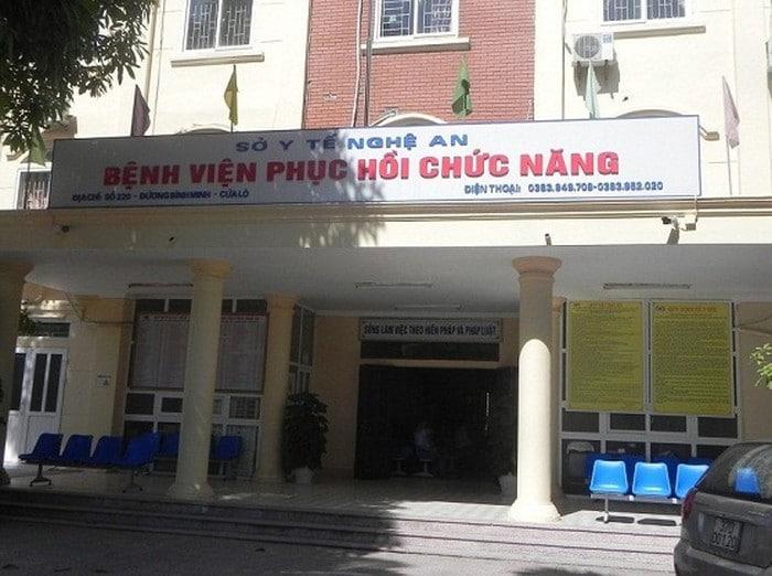 Bệnh viện phục hồi chức năng Nghệ An