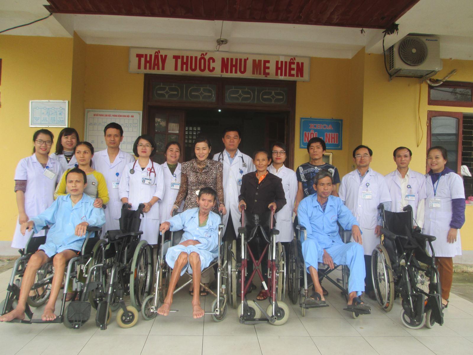 Bệnh viện phục hồi chức năng Hà Tĩnh