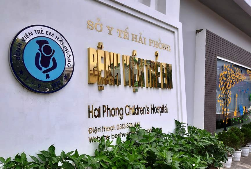 Khoa ngoại chấn thương, Bệnh viện trẻ em Hải Phòng