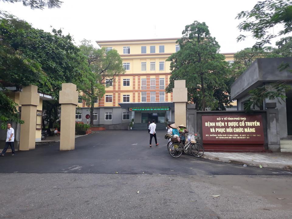 Bệnh viện Y dược cổ truyền và Phục hồi chức năng tỉnh Phú Thọ