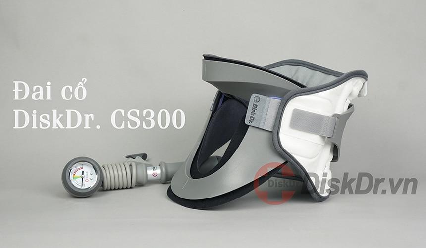 Đai kéo giãn cột sống cổ DiskDr CS300 dành cho các trường hợp đứng, ngồi