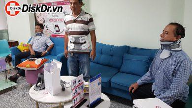 Hình ảnh khách hàng đến mua và dùng thử DiskDr.