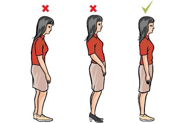Hoạt động đúng tư thế phòng ngừa bệnh đau cột sống lưng