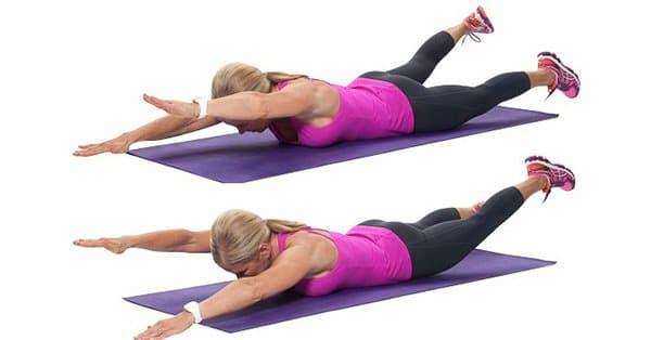 bài tập cơ lưng và mông