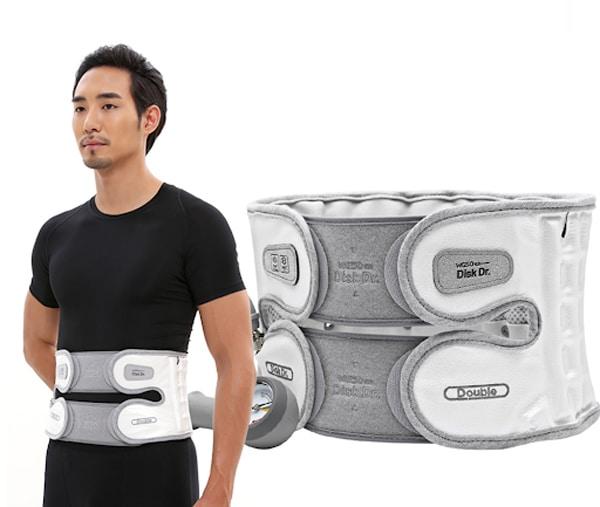 Đai kéo giãn cột sống DiskDr. - giải pháp giúp hỗ trợ điều trị đau lưng cấp hiệu quả