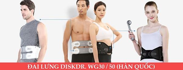 đai lưng disk dr