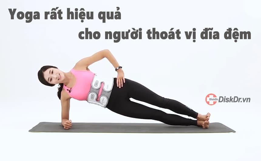 Yoga rất hiệu quả đối với những người mắc bệnh về xương khớp