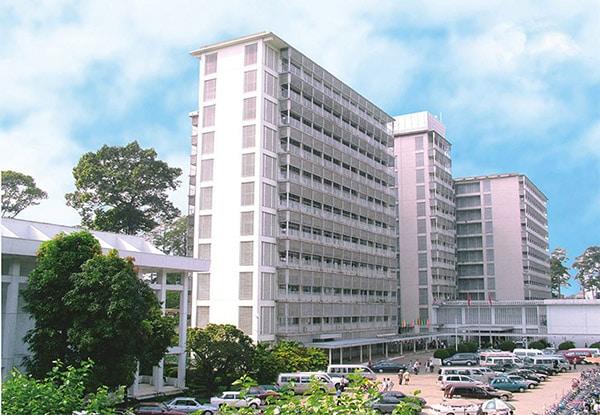 Bệnh viện Chợ Rẫy là bệnh viện uy tín tại khu vực phía Nam