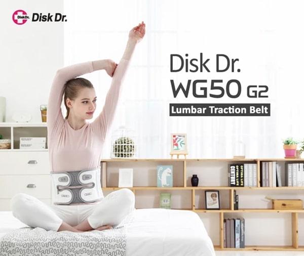 Đai kéo giãn cột sống Disk Dr.