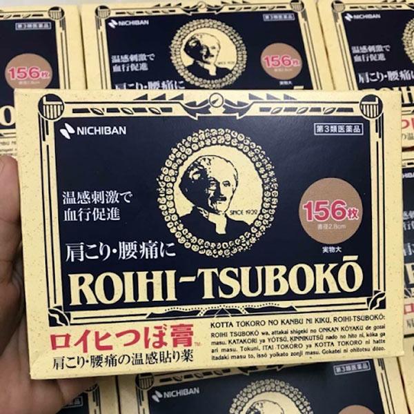 Miếng dán huyệt Roihi Tsuboko