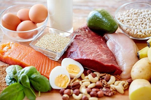 Thực phẩm giàu protein tốt cho người bị thoát vị đĩa đệm