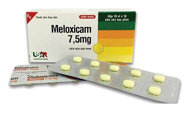 Thuốc giảm đau không steroid Meloxicam 7,5mg