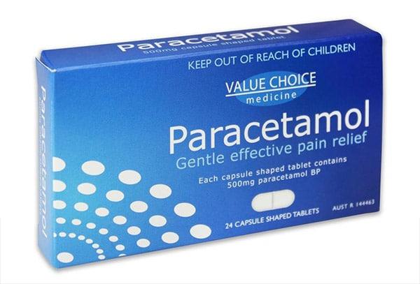 Thuốc giảm đau Paracetamol