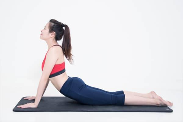 Động tác rắn hổ mang trong yoga