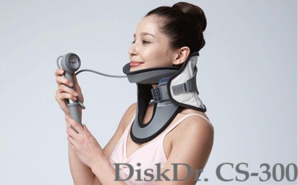 Sử dụng đai kéo giãn cột sống cổ DiskDr. vô cùng tiện lợi