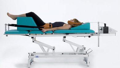 Kéo giãn cột sống bằng máy giúp chữa thoát vị đĩa đệm cổ