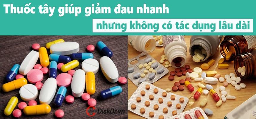 Thuốc tây giúp giảm cơn đau nhanh chóng