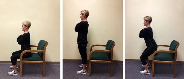Tư thế đứng và ngồi chữa đau khớp gối