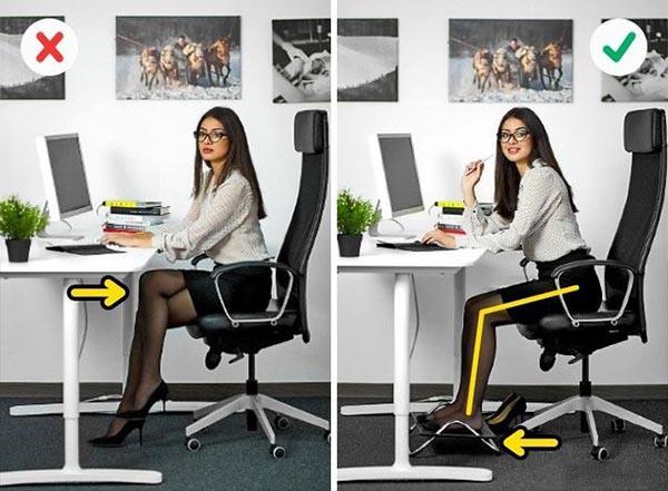 Cách ngồi đúng tư thế