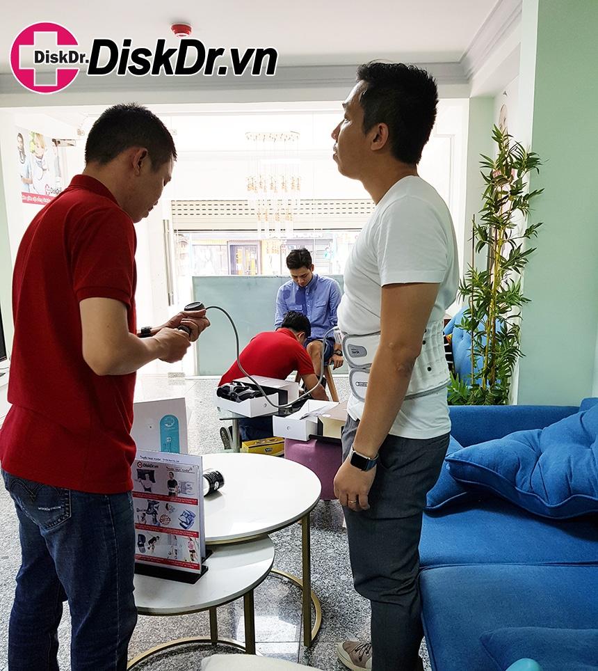 Hình ảnh khách hàng sử dụng DiskDr.