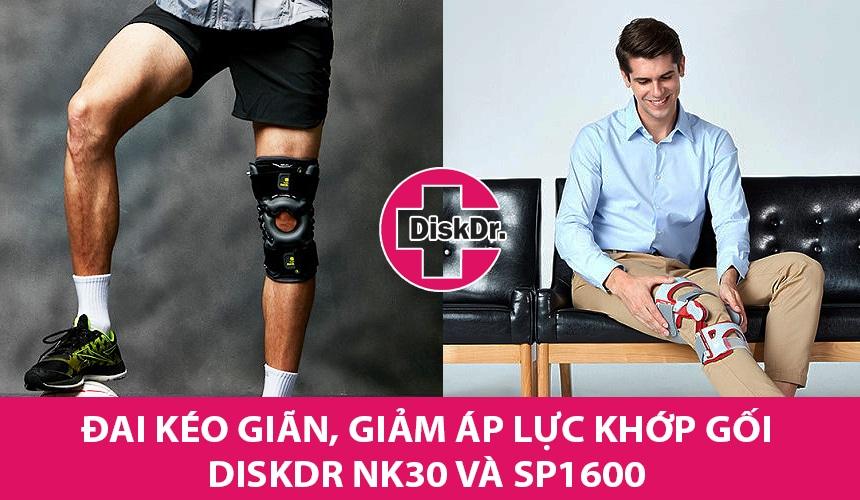 Đai gối DiskDr. là sản phẩm cao cấp nhất hiện nay