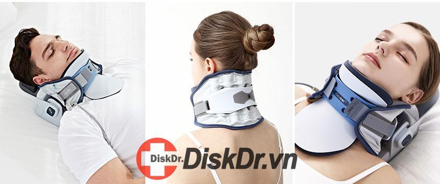 DiskDr. là sản phẩm cực tốt trong điều trị thoát vị đĩa đệm cổ