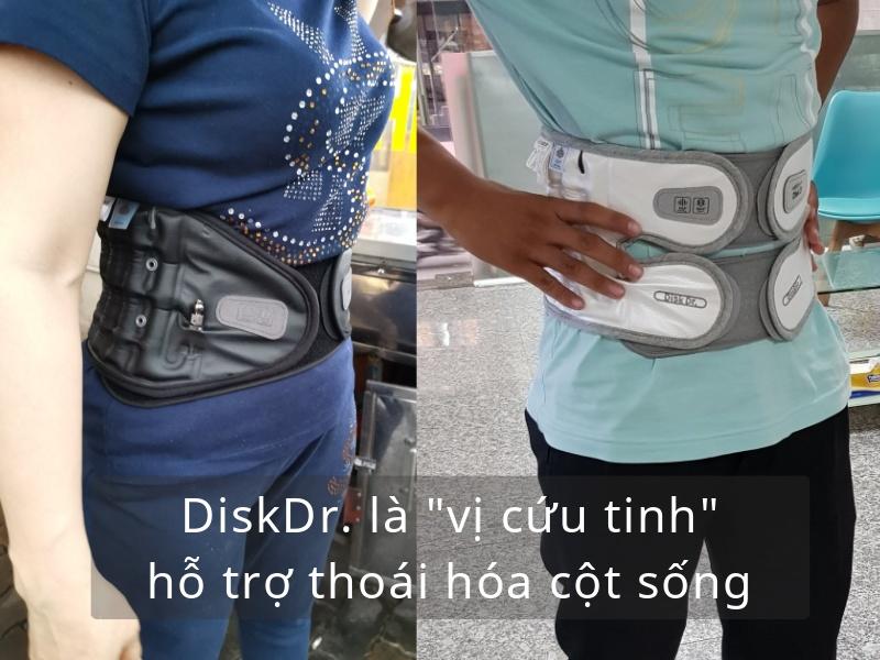 DiskDr. là vị cứu tinh trong hỗ trợ thoái hóa cột sống