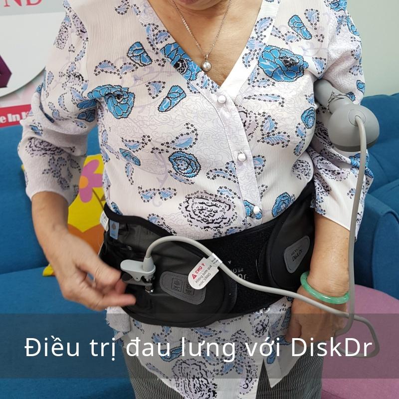 điều trị đau lưng với DiskDr.