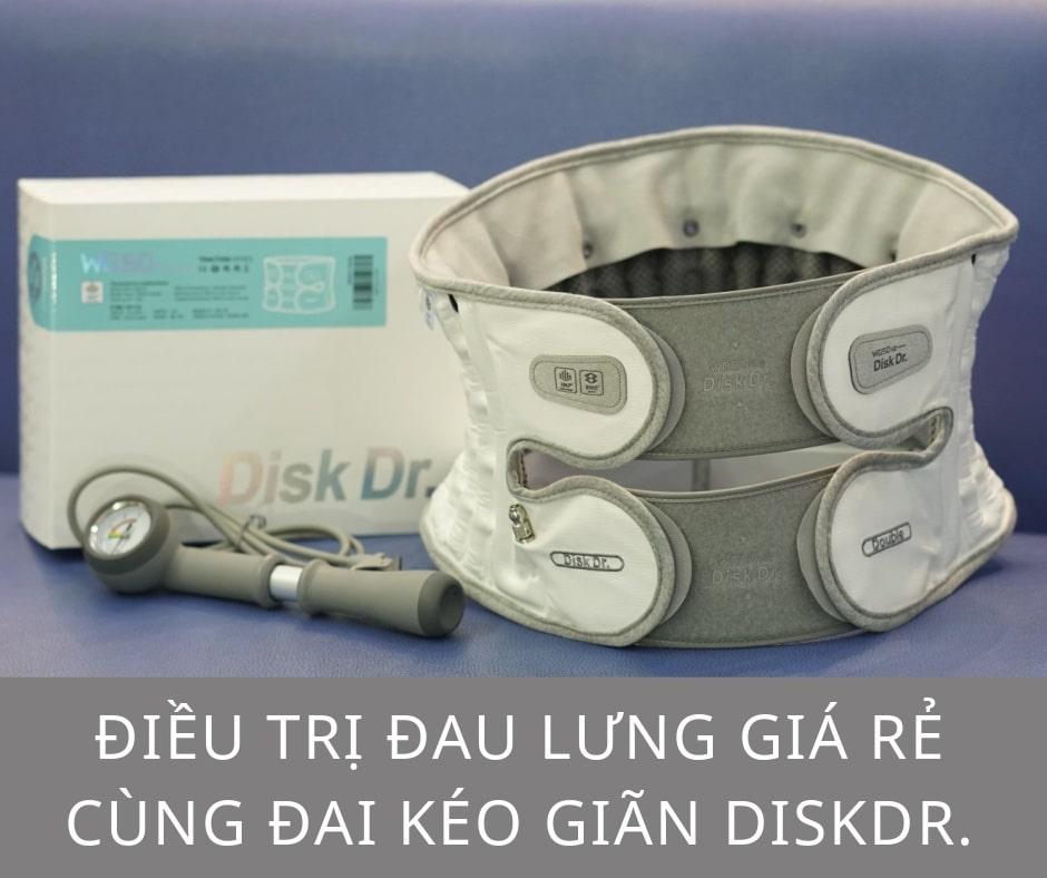 DiskDr. điều trị đau lưng giá rẻ
