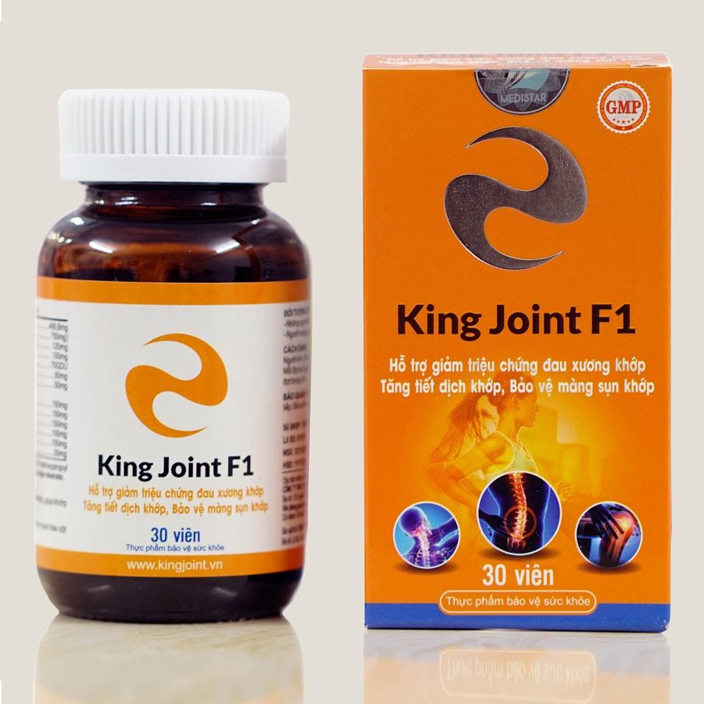 Hình ảnh thật viên xương khớp KingJoint F1 Glucosamin và thảo dược thiên nhiên