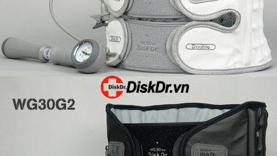 Hình ảnh thực tế đai kéo giãn cột sống DiskDr. Hàn Quốc chính hãng