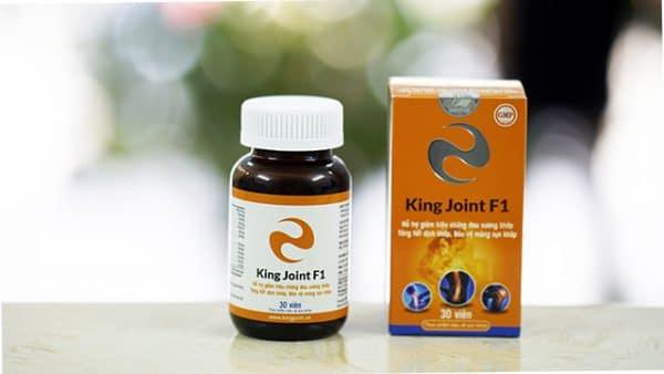 Viên khớp KingJoint F1 - Glucosamin hàm lượng cao và thảo dược