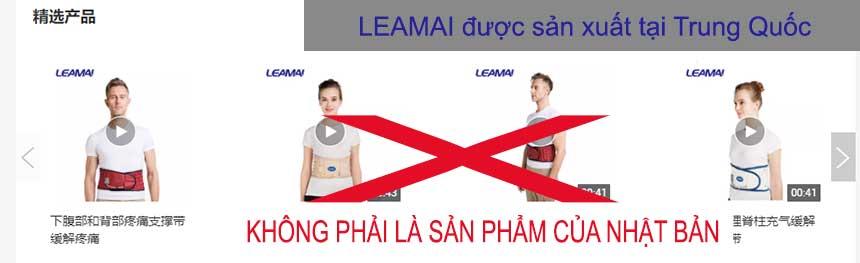 Đai kéo giãn cột sống Leamai - Trung Quốc