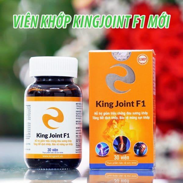 Viên xương khớp KingJoint F1 thế hệ mới Glucosamin và thảo dược thiên nhiên