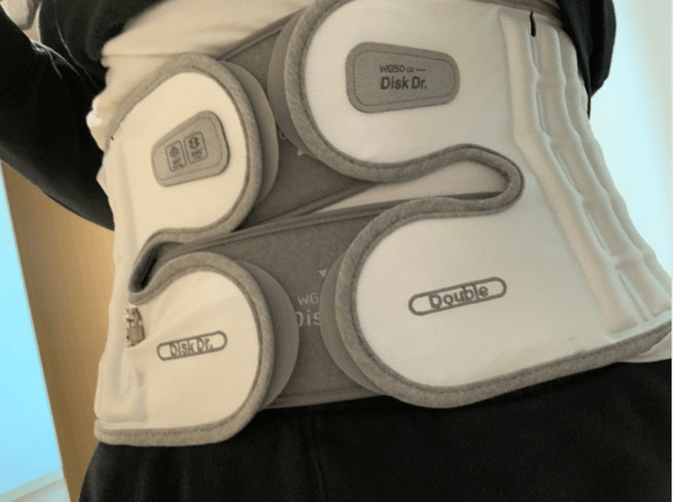 Đai lưng Hàn Quốc DiskDr có tốt cho người bệnh xương khớp không?